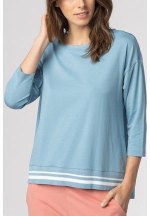 Pyjama top - faded denim