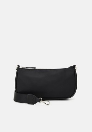 BAG BAGUETTE WITH EARPHONE CASE SET - Handbag - black