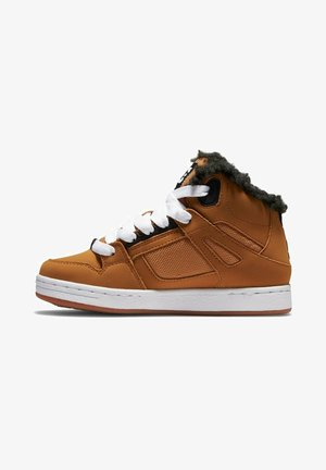 High-top trainers - brown/wheat