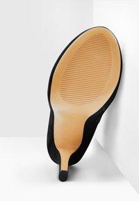 Only Maker - Platform ankle boots - mottled black - 5