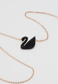 Swarovski - ICONIC SWAN PENDANT  - Necklace - jet