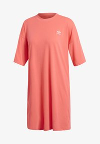adidas Originals - TREFOIL DRESS - Jersey dress - orange - 6