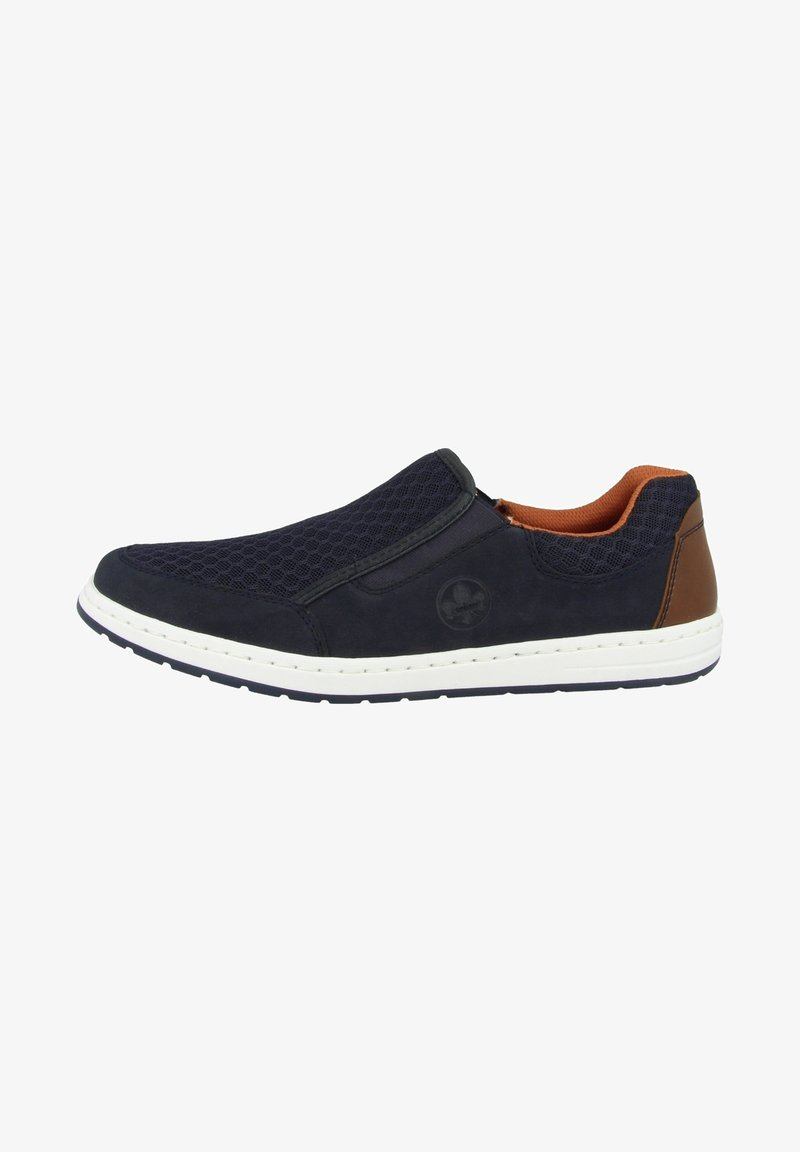 Rieker - Sneakers laag - pacific-navy-amaretto