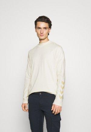 SUBURB UNISEX - Camiseta de manga larga - white aspargus