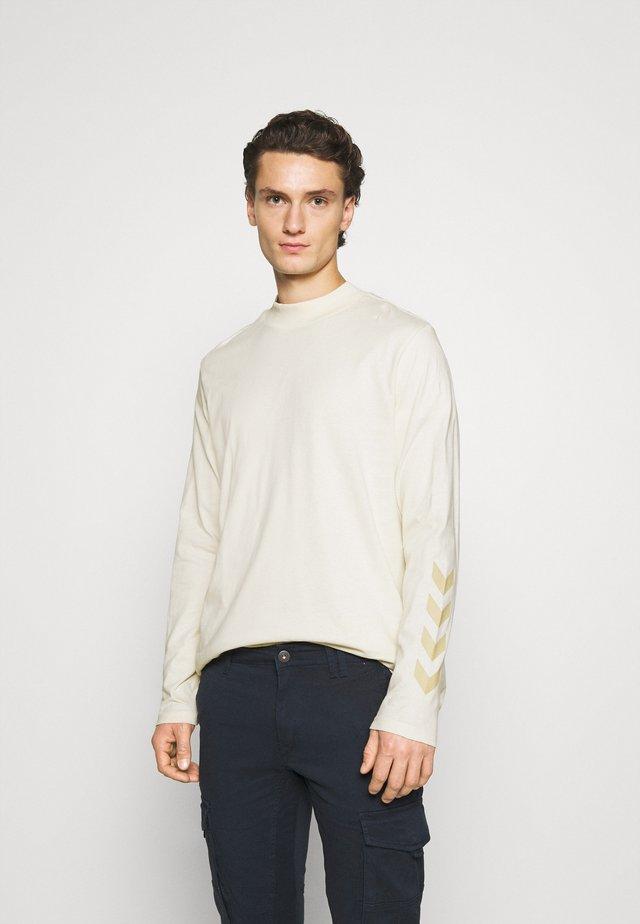 SUBURB UNISEX - Pitkähihainen paita - white aspargus
