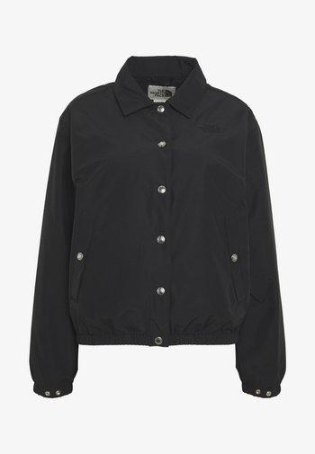 WOMEN'S COACH JACKET - Outdoor jakke - black