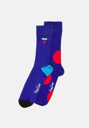 JUMBO DOT UNISEX 2 PACK - Socks - multi