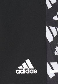 adidas Performance - CELEB SHORT - Urheilushortsit - black/white - 5