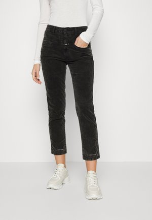 PEDAL PUSHER - Trousers - washed black