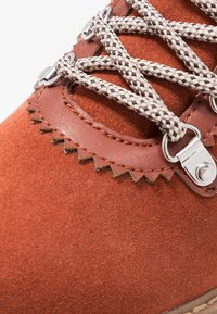 Tamaris - Lace-up ankle boots - rust - 2