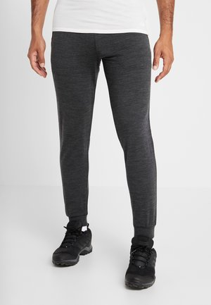 MENS SHIFTER PANTS - Tracksuit bottoms - mottled black