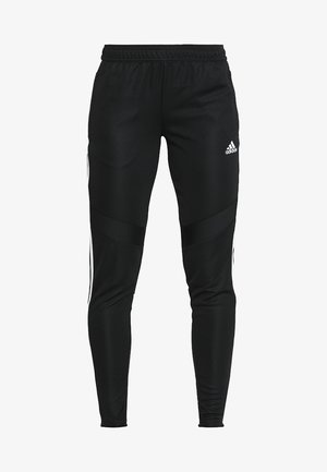 TIRO AEROREADY CLIMACOOL FOOTBALL PANTS - Pantalones deportivos - black/white