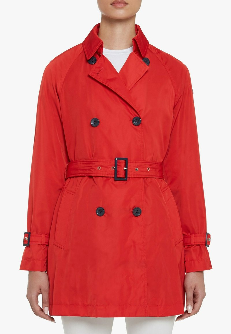 Geox - Trenchcoat - red