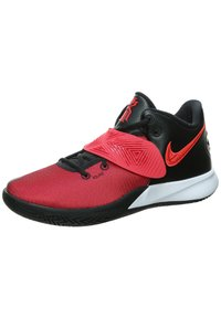 Nike Performance - KYRIE FLYTRAP III - Basketball shoes - black/university red /bright crimson - 4