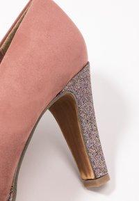 Marco Tozzi - COURT SHOE - Zapatos altos - old rose - 2