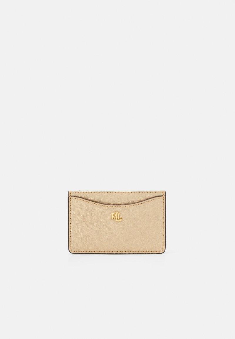 Lauren Ralph Lauren - SLIM CARD CASE MEDIUM - Wallet - warm gold