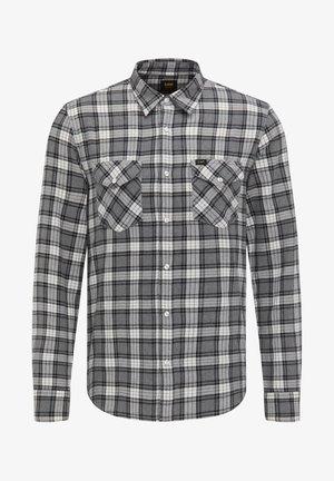 CLEAN WESTERN - Shirt - grey mele