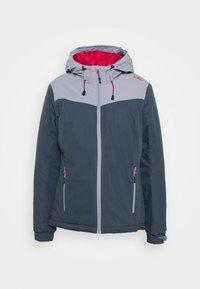 CMP - WOMAN JACKET FIX HOOD - Hardshell jacket - titanio - 3