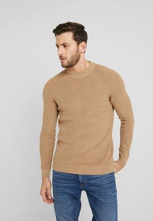 Jersey de punto - camel