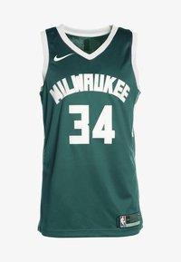 Nike Performance - NBA GIANNIS ANTETOKOUNMPO MILWAUKEE BUCKS SWINGMAN ROAD - Article de supporter - fir/flat opal - 4