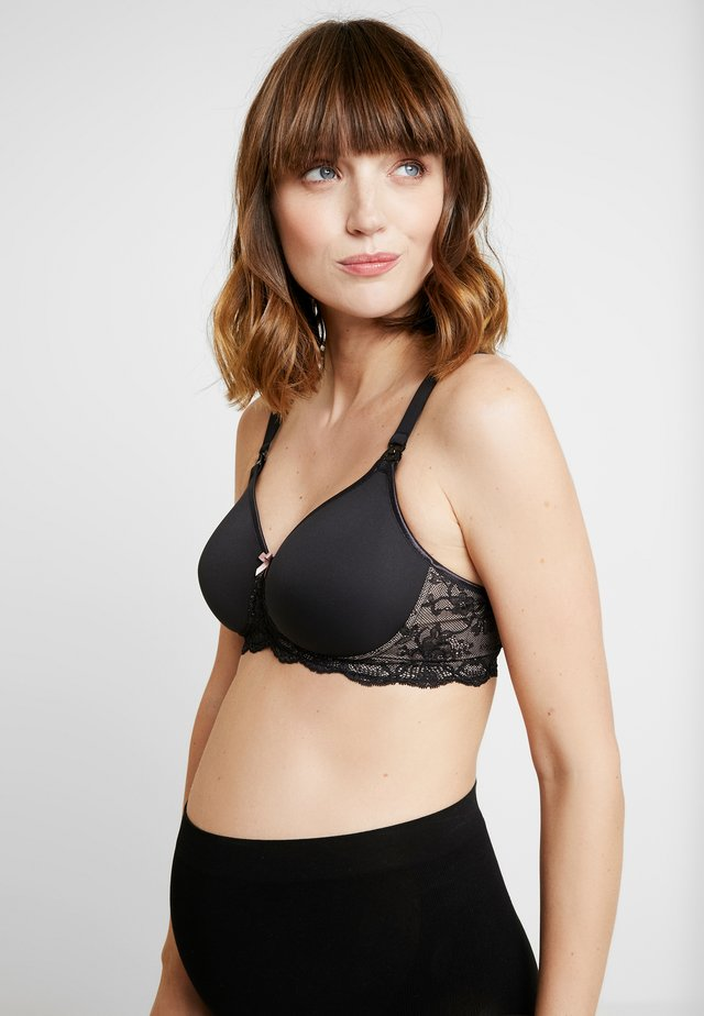 MISS LOVELY STILL - T-shirt bra - schwarz