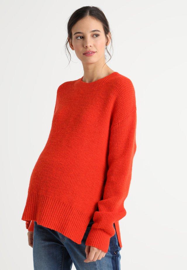 JESSICA SWEATER - Sweter - poppy