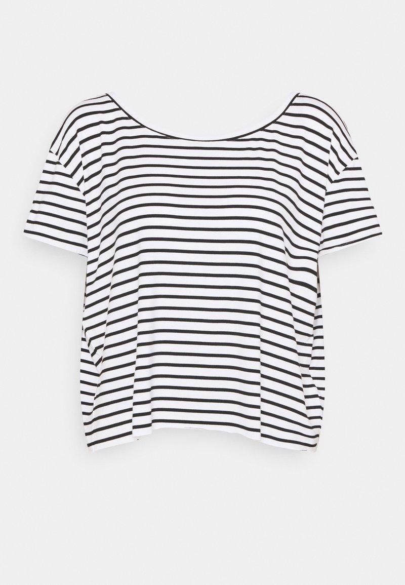 Molly Bracken - LADIES TEE - Print T-shirt - offwhite/black