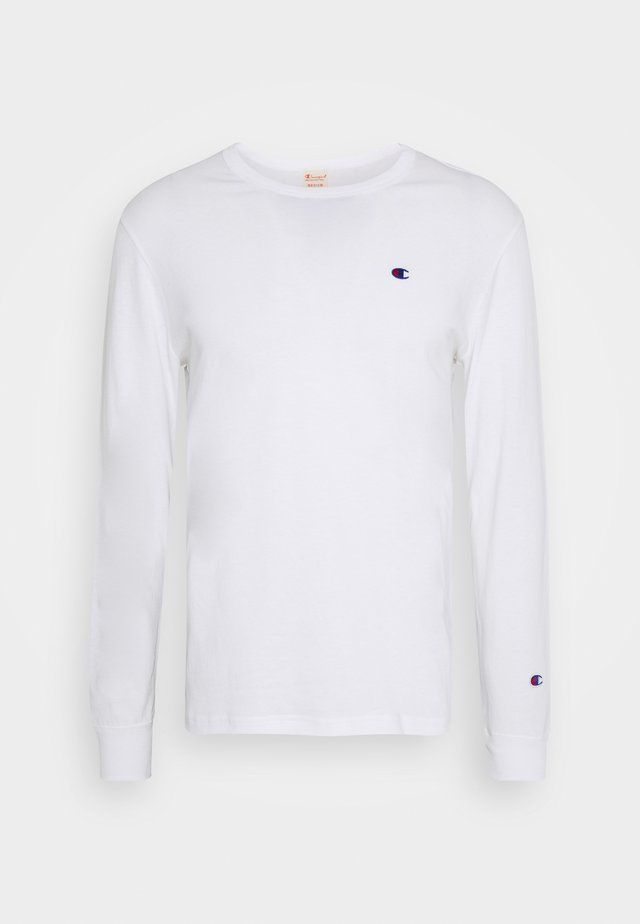 CREWNECK LONG SLEEVE - T-shirt à manches longues - white