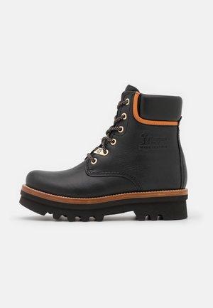 MICHELLE - Platform ankle boots - black