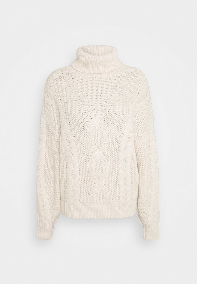 CABLE  - Jumper - soft beige