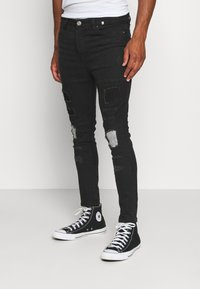 Brave Soul - PRINCE - Jeans Skinny Fit - charcoal - 0