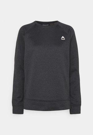 OAK CREW - Sweatshirt - true black heather
