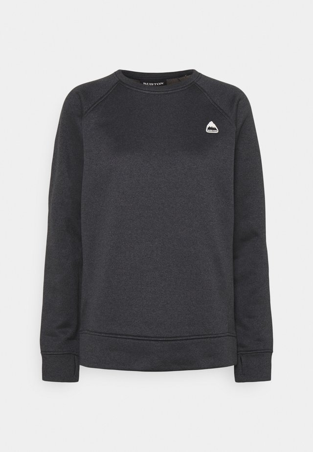 OAK CREW - Sweater - true black heather