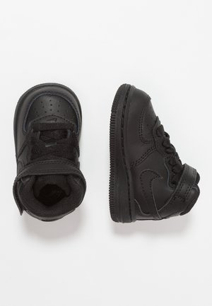 NIKE FORCE 1 MID (TD) - High-top trainers - black