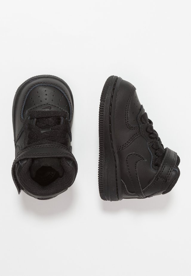 NIKE FORCE 1 MID (TD) - Baskets montantes - black