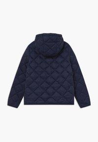 GANT - THE WEIGHT DIAMOND PUFFER - Winter jacket - evening blue - 1