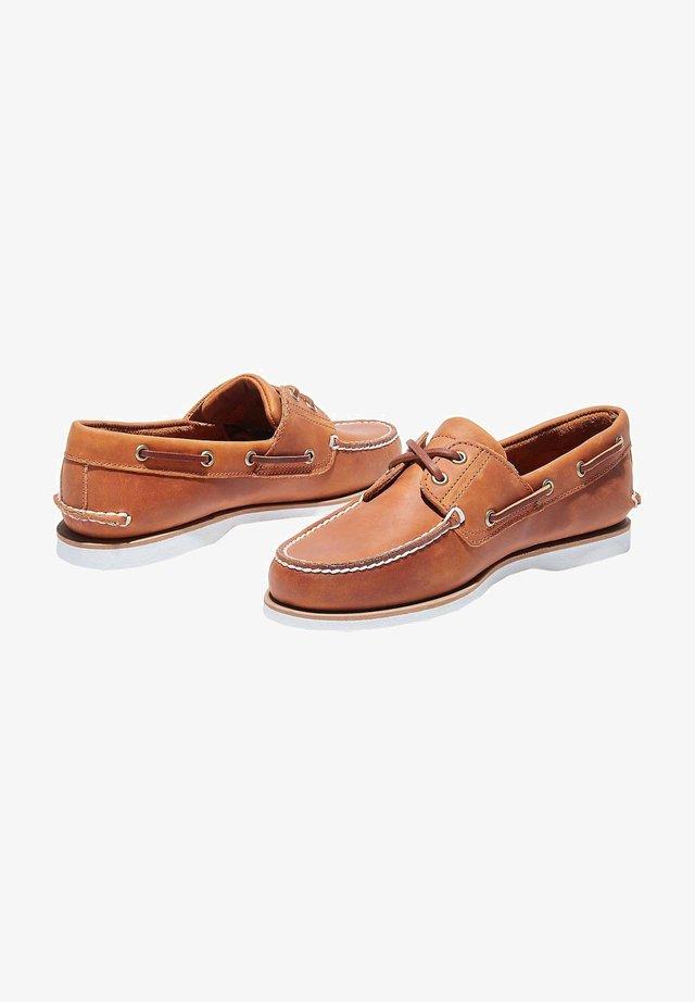 Chaussures bateau - apricot buff