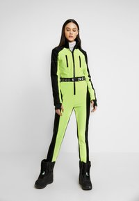 Topshop - SNO NEON STAR - Tuta jumpsuit - yellow - 0