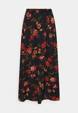 ONLNOVA LUX LONG SKIRT  - Maxi skirt - black