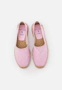 Polo Ralph Lauren - CEVIO SLIP - Espadrillos - carmel pink/blue - 3
