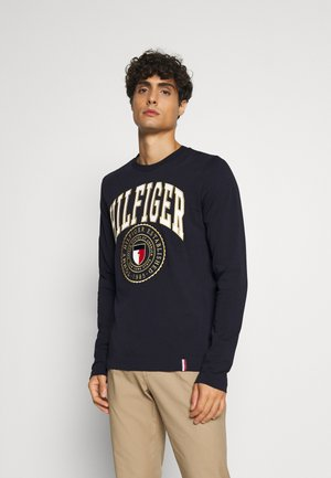 VARISTY LONG SLEEVE TEE - Topper langermet - blue