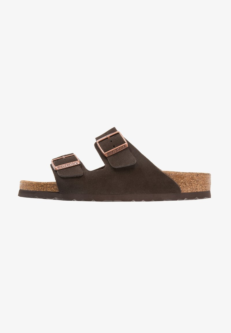 Birkenstock - ARIZONA SOFT FOOTBED NARROW FIT - Kapcie - mocca