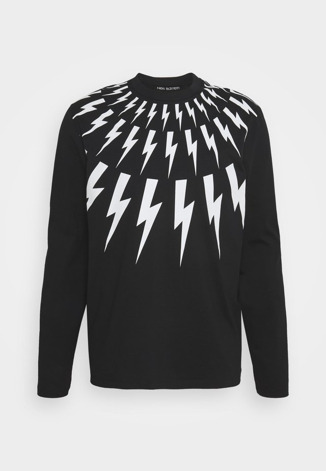 THUNDERBOLT LONG SLEEVE - Longsleeve - black/white