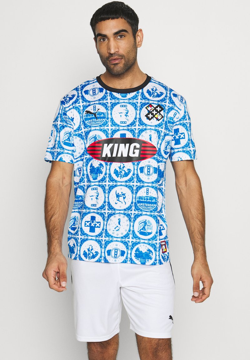 Puma - AMSTERDAM - T-Shirt print - royal
