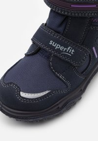 Superfit - HUSKY - Winter boots - blau/lila - 5