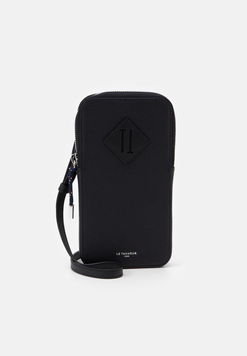 Le Tanneur - NATHAN ZIPPED PHONE HOLDER - Etui na telefon - noir