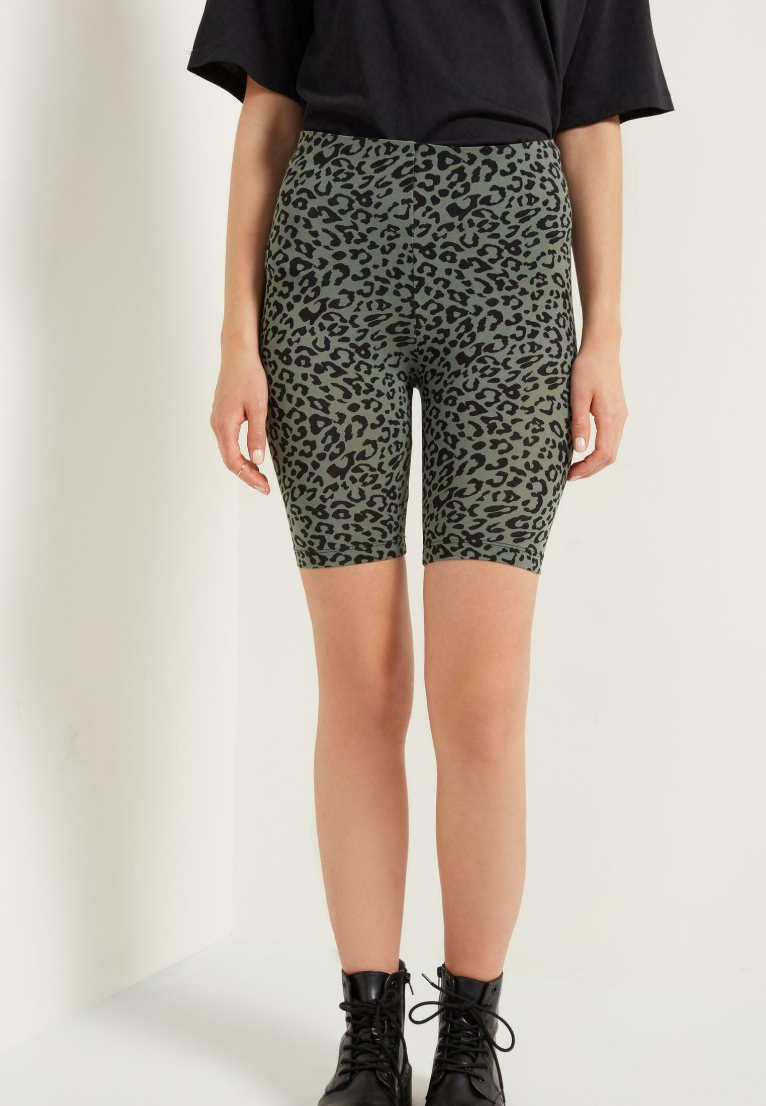 Damer MIT HOHEM BUND MIT PRINT - Shorts