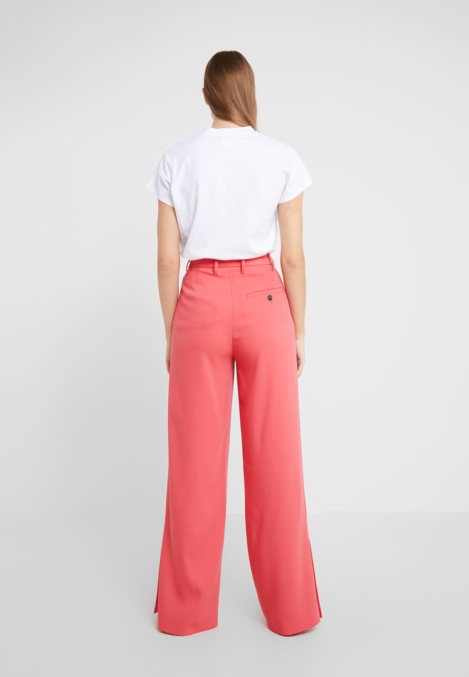 CLOSED LYN - Trousers - geranium