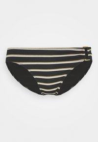 Lauren Ralph Lauren - RING FRONT HIPSTER - Bikini bottoms - black - 4