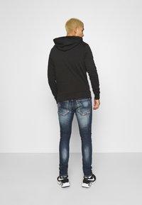 Alessandro Zavetti - CHEILLINI SUPER SLIM - Slim fit jeans - indigo - 2